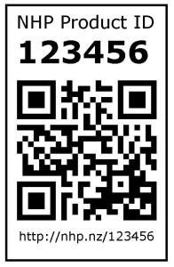 NHP QR Code